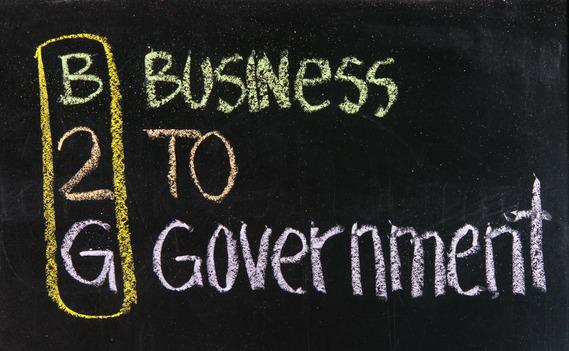 government contractor social media marketing