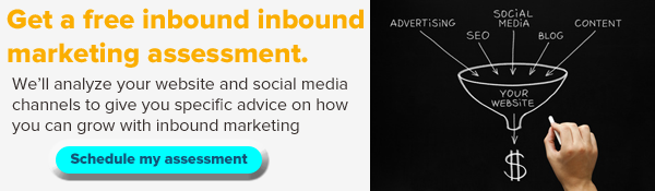Get a free inbound marketing assessment with Rapidan Strategies