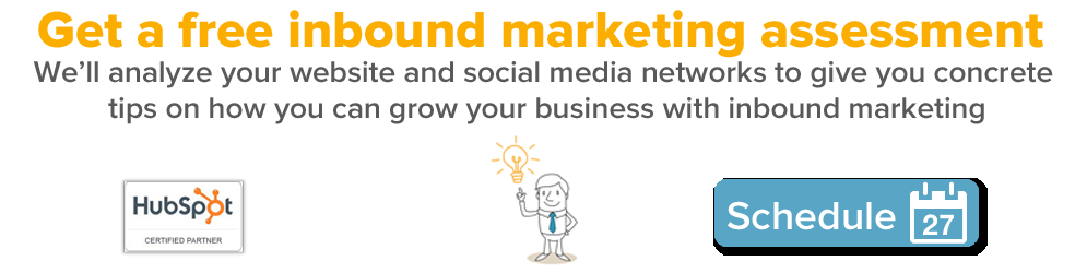 Get a free inbound marketing assessment from Rapidan Strategies
